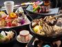 特選会席コース(冬)特製出汁で味わう木ノ子鍋