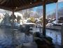 ★サウナ完備!奥軽井沢温泉大浴場/冬は雪見風呂をお楽しみいただけます