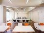 【会議室】1室から3室まで、お客様のご用途に合わせて貸出しております。写真は3室連結した会議室です。