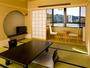 2010年7月に誕生した新客室です。長良川沿いに面し、洗面・トイレ付です。