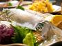 ◆呼子イカの活き造り◆その旨みは新鮮な証--