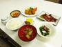 *【夕食例】地元の食材を使った、手作りの夕食膳をご用意致します。