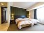 デラックスファミリールーム 寝室