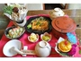 夕食・精進料理をイメージしたZENディナーセット。¥1800