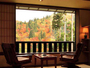 全室が眺望の客室。何もせず風を眺める贅沢な時間。