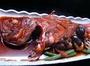 名物「金目鯛煮魚」一例。2-3名様用。ちょと甘くて、濃い目の味付が漁師風。