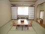 家族、グループ旅行に人気の和室8畳。