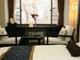 あたたかいお部屋からのんびりと眺める雪景色。本館モダン洋室