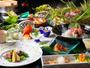 """""""◆山海の幸を使った四季折々の会席料理は、料理長の技が光るこだわりの""""""""真髄""""""""-"""""""