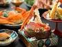 2017「ズワイ蟹会席」イメージ★焼き物や揚げ物、蟹しゃぶなどでご堪能ください♪