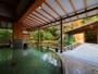 水心鏡「満月風呂」紅葉