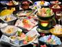 女将手作り御膳-夕食一例-季節によって内容が異なります。