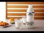 朝食メニュー(一例) 北海道産の牛乳