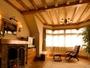 ヨーロピアン館モデレートツインルーム…43平米の広々としたお部屋はお二人の大切な時間をはぐくみます。