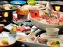 青森銘牛倉石牛+地魚盛り込み+鮑が味わえる贅沢プランの献立一例
