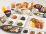 朝食(和・洋食ビュッフェスタイル)