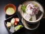 桜色の淡雪鍋に季節の果物や和菓子を抹茶フォンデュで。女子が好きなものが凝縮したおススメ新プランです