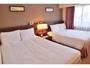 タイプE 20平米 ベッド幅140+140cmで4名様までOK