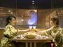 【和風ダイニング「出雲」】100キロ水晶まがたまを眺めながらコース料理に舌鼓。