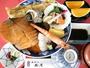 ウチワエビのインパクトが大の神楽めし。昼・夕に7階レストランでご用意しています。