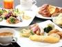 種類豊富な「ハーモニー」での朝食ブッフェ(イメージ)