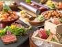 【夕食バイキング】好きなものを好きなだけ、おなかいっぱいお召し上がりください ※イメージ