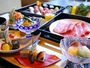 【お食事処 風月】では職人が真心こめて調理する。お寿司・天麩羅に和牛しゃぶしゃぶをお楽しみ頂けます♪