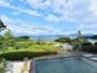 <露天>15:00-24:00、6:00-9:00オーシャンビューの絶景が楽しめる、海一望の展望温泉露天風呂。
