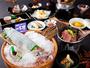 【きわみ会席・秋】名物イカの 姿造りや 松茸料理など 人気No1会席!9月-11月の