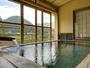 *Aタイプ/客室露天も源泉かけ流し。湯触り心地よい鬼怒川の湯で癒しのひと時を。