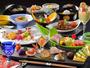 【会席料理一例】季節に合わせた色彩鮮やかな会席料理をご用意致します。