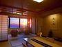 【最上階客室「天空」】3階客室から一望する日本海と夕日は絶景、大切な人と特別な時間を…