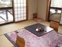 テラス付き1階和室。床暖房とコタツでほっこりと