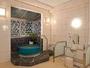 蓬莱の湯(女湯)は広釜風呂と、浴槽が2種類楽しめます。