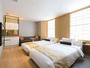 【デラックスツイン「KANAZAWA」】上品な色合いに和の趣。金沢ステイにお勧めのお部屋