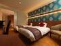 スタンダードツイン◆22-29平米◆客室ごと印象的の異なる壁紙とレイアウト