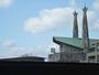 8Fのお部屋の窓からの風景(26聖人、記念聖堂)