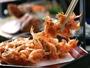 サクサク食感の桜海老のかき揚げ 一例