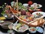 「極-KIWAMI-」和歌山ならではの海の幸・山の幸を使った贅沢な和食会席(造りは2人前)