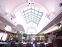 トップライトからの光と緑があふれるレストランカフェ ヴェルデュール