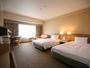 ツインルームは33平米以上 ※一般的な客室より、広々としたお部屋を提供させて頂いております。