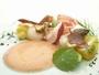 その日の仕入れによって変わる前菜で旬の美味しさを味わってください。