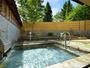 奥入瀬の風を肌で感じられる爽快な露天風呂でゆったりのんびり♪