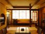 ◆スイート-風手毬-◆[間取り] 和室10帖+露天風呂+広縁+ツインベッドルーム