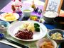 日替わり夕食 人気のハンバーグ定食