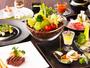料理長が腕を振るう和食ベースのコース料理