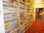 蔵書マンガは1000冊。お気に入りの一冊と出会えるかも!?